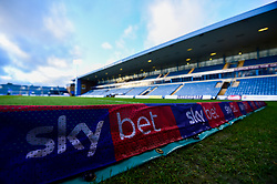 A general view of Sky Bet branding at The Medway Priestfield Stadium  prior to kick off  - Mandatory by-line: Ryan Hiscott/JMP - 12/03/2019 - FOOTBALL - The Medway Priestfield Stadium - Gillingham, England - Gillingham v Bristol Rovers - Sky Bet League One