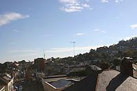 View over rooftops Dublin Ireland<br />