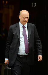 Secretary of State for Justice Chris Grayling  leaves  No10 Downing Street after the Government's weekly Cabinet meeting, London, United Kingdom. Tuesday, 3rd September 2013. Picture by Andrew Parsons / i-Images
