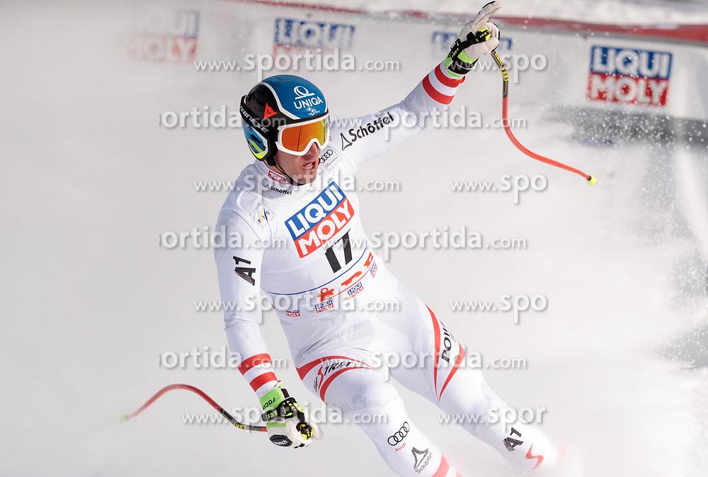 14.03.2018, Aare, SWE, FIS Weltcup Ski Alpin, SWE, FIS Weltcup Ski Alpin, Finale, Aare, Abfahrt, Herren, im Bild 14.03.2018, Aare, SWE, FIS Weltcup Ski Alpin, Finale, Aare, Abfahrt, Herren, im Bild // race winner Matthias Mayer of Austria reacts after his run of men's downhill of FIS Ski Alpine World Cup finals in Aare, Sweden on 2018/03/14. EXPA Pictures © 2018, PhotoCredit: #AGENTUR#/ Johann Groder // race winner Matthias Mayer of Austria reacts after his run of men's downhill of FIS Ski Alpine World Cup finals in Aare, Sweden on 2018/03/14. EXPA Pictures © 2018, PhotoCredit: EXPA/ Johann Groder<br /> <br /> *****ATTENTION - #RESTRICTION#*****