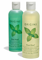 origins clear head mint shampoo and conditioning rinse