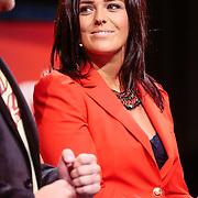 NLD/Hilversum/20120821 - Perspresentatie RTL Nederland 2012 / 2013, Dennis Willekens en Laura Ponticorvo