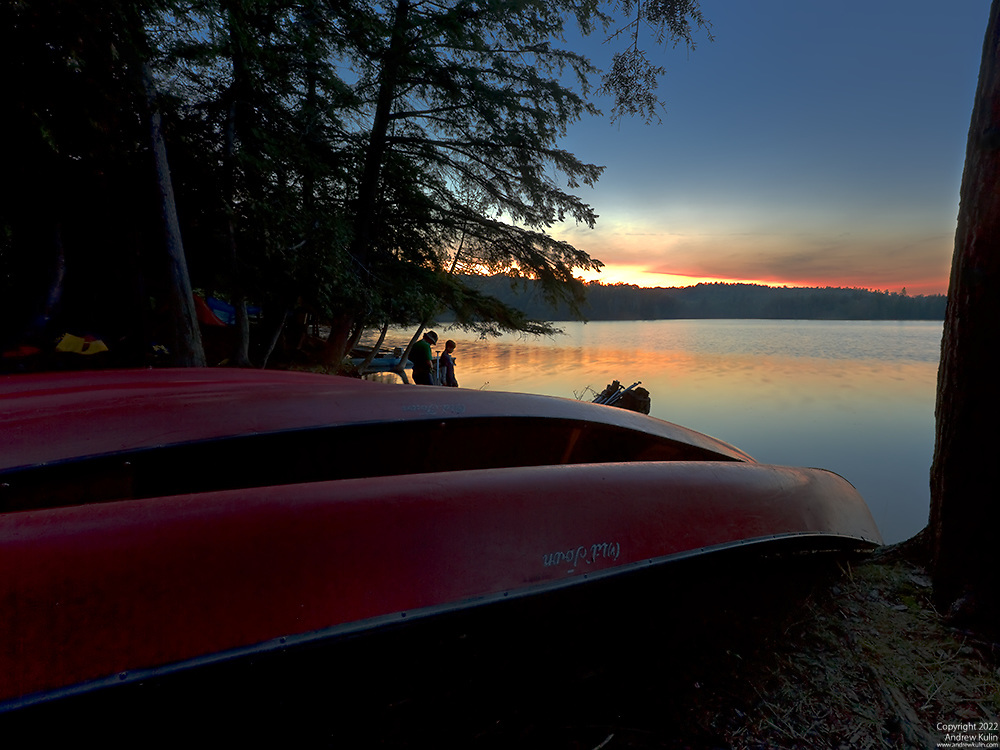 Sunset Lake Kennabi, Haliburton Scout Reserve