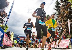 17.07.2016, Grossglockner Hochalpenstrasse, Heiligenblut, AUT, Grossglockner Berglauf 2016, im Bild Übersicht vom Start // during the 2016 Grossglockner Mountain Run. Heiligenblut, Austria on 2016/07/17. EXPA Pictures © 2016, PhotoCredit: EXPA/ Johann Groder