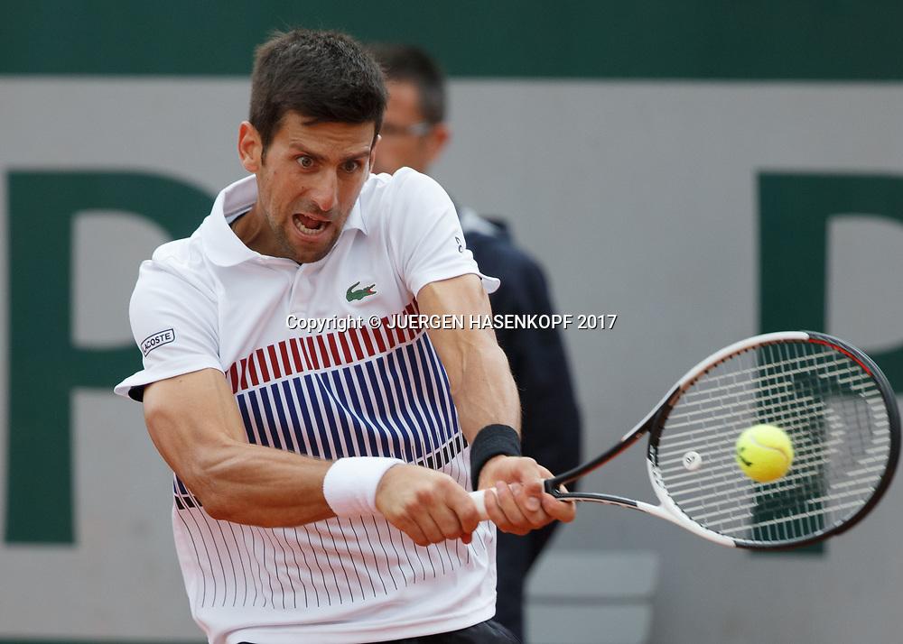 NOVAK DJOKOVIC (SRB)<br /> <br /> Tennis - French Open 2017 - Grand Slam / ATP / WTA / ITF -  Roland Garros - Paris -  - France  - 7 June 2017.