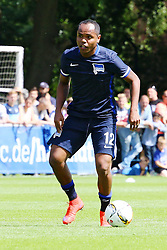 28.06.2015, Berlin, GER, 1. FBL, Hertha BSC, Trainingsauftakt, im Bild Ronny (#12, Hertha BSC Berlin) // during a traning session of German 1st Bundeliga Club Hertha BSC in Berlin, Germany on 2015/06/28. EXPA Pictures © 2015, PhotoCredit: EXPA/ Eibner-Pressefoto/ Hundt<br /> <br /> *****ATTENTION - OUT of GER*****