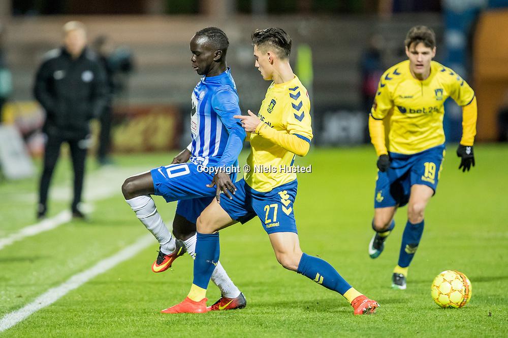 Fodbold, Alka Superligaen, Esbjerg fB og Brøndby IF 1:1