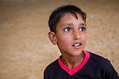 Portraits of Syrian refugee children - individuals