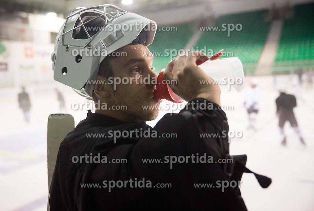Ales Sila during Training at Ice Hockey camp of Ivo Jan, on July 28, 2016 in Ledna dvorana Tivoli, Ljubljana, Slovenia. Photo by Vid Ponikvar / Sportida