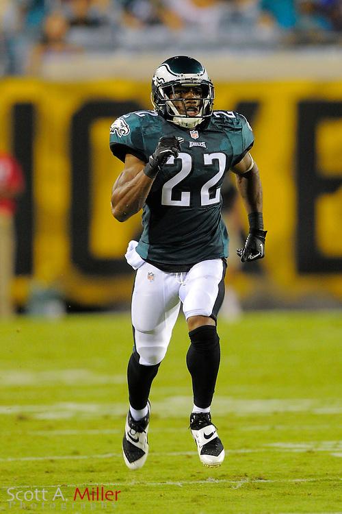 Philadelphia Eagles cornerback Brandon Boykin (22) during a preseason NFL game against the Jacksonville Jaguars at EverBank Field on Aug. 24, 2013 in Jacksonville, Florida. The Eagles won 31-24.<br /> <br /> &copy;2013 Scott A. Miller