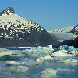 Portage Lake, south of Anchorage, Alaska.