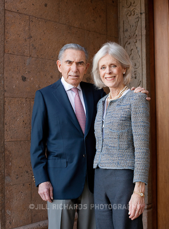 Bill and Susan Goldwater Levine of Scottsdale, AZ. Susan Levine is Executive Director of Hospice of the Valley. Bill Levine is a real estate developer in Arizona.