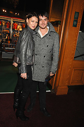 EMMA GRIFFITHS and MATT WILLIS at the gala night of Varekai by Cirque du Soleil at The Royal Albert Hall, London on 8th January 2008.<br />