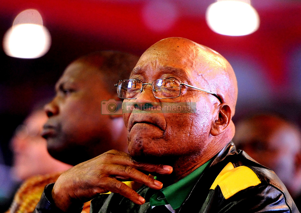 Johannesburg. ANC 54th National Conference (ANC Elective conference), Johannesburg Expo Centre, NASREC and date 2017/12/ 16  Jacob Zuma  during the Political report picture Ayanda Ndamane/African New agency/ANA