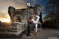 Dance As Art- the New York City Photography Project at Belvedere Castle Central Park  with dancer Daniel White