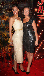 Luisa Bradshaw-White and Rebecca Scroggs  at the British Soap Awards in London, Saturday, 24th May 2014. Picture by  i-Images