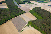 Nederland, Limburg, Gemeente Roerdalen, 27-05-2013; ten noordwesten van Montfoort en Aan den Berg, akkers met asperges.<br /> <br /> QQQ<br /> luchtfoto (toeslag op standaardtarieven);<br /> aerial photo (additional fee required);<br /> copyright foto/photo Siebe Swart.
