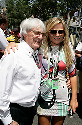 MONTE-CARLO, MONACO - Sunday, May 24, 2009: Bernie Ecclestone (ENG, president and CEO of Formula One Management and Formula One Administration), British singer Geri Halliwell during the Monaco Formula One Grand Prix at the Monte-Carlo Circuit. (Pic by Juergen Tap/Hoch Zwei/Propaganda)