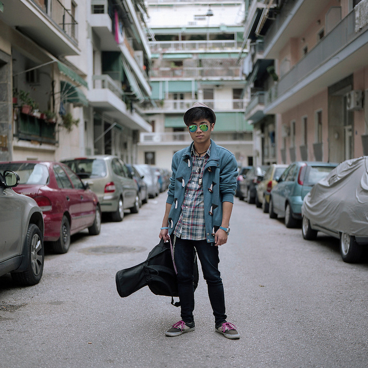 Luigi Juanta, 21, originates from Philippines.<br /> <br /> Luigi was born in Greece but for some family reasons (including bureaucratic problems with the Greek authorities) he lived for about 8 years in Philippines with his grandparents.<br /> &quot;Before I go to Philippines I thought I was from Greece. I discover the opposite when I saw that the people there had the same color as me and that there were no white people living in that country. While I was in Philippines I had a really hard time since I haven't seen my mother for six years and I missed her a lot.&quot;<br /> &quot;I never saw Philippines as my homeland and I was eager to go back home, Greece.&quot;