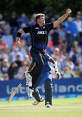 Dunedin-Cricket, New Zealand v Sri Lanka, 6th ODI