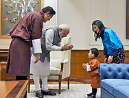 01.11.2017; Thimpu, Bhutan: PRINCE JIGME MEETS INDIAN PM MODI<br />
