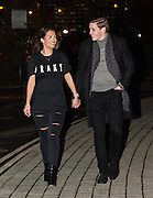EXCLUSIVE<br /> Ex On The Beach member Nicole Bass and her boyfriend Jacques Fraser pictured heading to the Drake concert at The O2 Arena in Greenwich, London.<br /> ©Exclusivepix Media