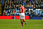 Middlesbrough defender George Friend (3)  during the EFL Sky Bet Championship match between Sheffield Wednesday and Middlesbrough at Hillsborough, Sheffield, England on 19 October 2018.