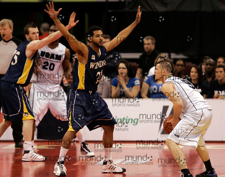 CIS Basketball Champioships-Ottawa, March 19, 2010, Windsor Lancers-RJ Wells