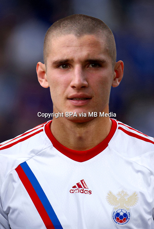 Football Fifa Brazil 2014 World Cup / <br /> Russia National Team - <br /> Taras Burlak  of Russia