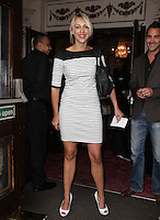 Ali Bastian Pygmalion - Press Night, Garrick Theatre, London, UK, 25 May 2011:  Contact: Rich@Piqtured.com +44(0)7941 079620 (Picture by Richard Goldschmidt)