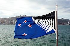 Wellington-The winning flag in the first referrendum