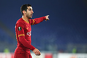 Henrikh Mkhitaryan of Roma gestures during the UEFA Europa League, Group J football match between AS Roma and Wolfsberg AC on December 12, 2019 at Stadio Olimpico in Rome, Italy - Photo Federico Proietti / ProSportsImages / DPPI