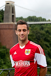 Sam Baldock of Bristol City - Photo mandatory by-line: Kieran McManus/JMP - Tel: Mobile: 07966 386802 31/07/2013 - SPORT - FOOTBALL - Avon Gorge Hotel - Clifton Suspension bridge - Bristol -  Team Photo