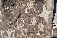 La Cieneguilla Petroglyph Site, Santa Fe, New Mexico, USA