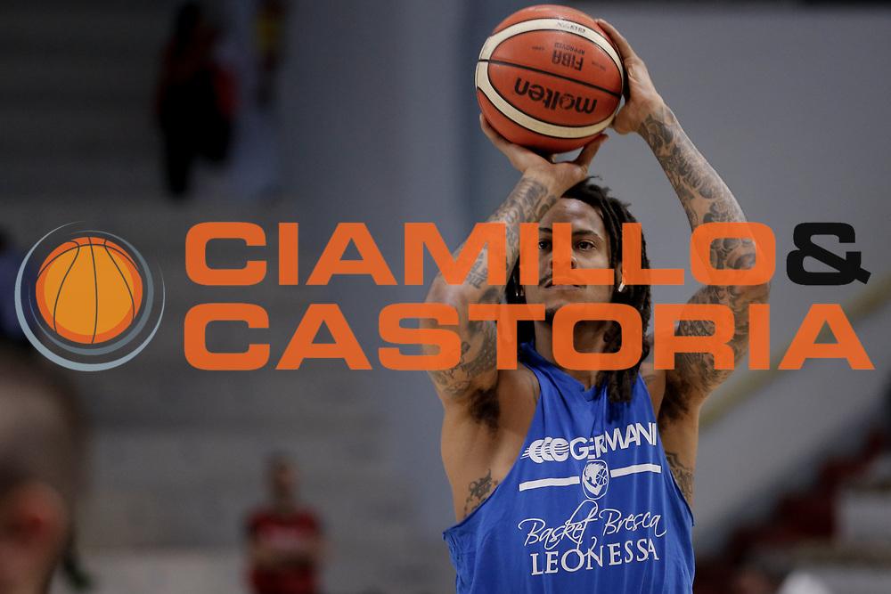 Moos David<br /> Vanoli Cremona - Germani Basket Brescia<br /> Legabasket Serie A 2017/18<br /> Cremona, 27/04/2018<br /> Foto MarcoBrondi / Ciamillo-Castoria