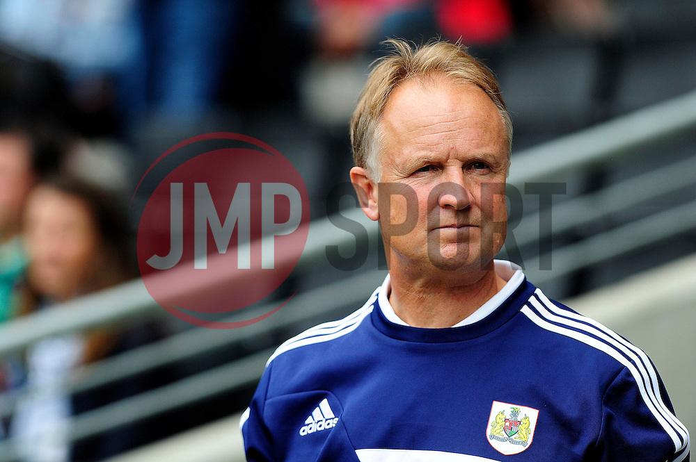 Bristol City Head coach, Sean O'Driscoll  - Photo mandatory by-line: Dougie Allward/JMP - Tel: Mobile: 07966 386802 24/08/2013 - SPORT - FOOTBALL - Stadium MK - Milton Keynes -  Milton Keynes Dons V Bristol City - Sky Bet League One