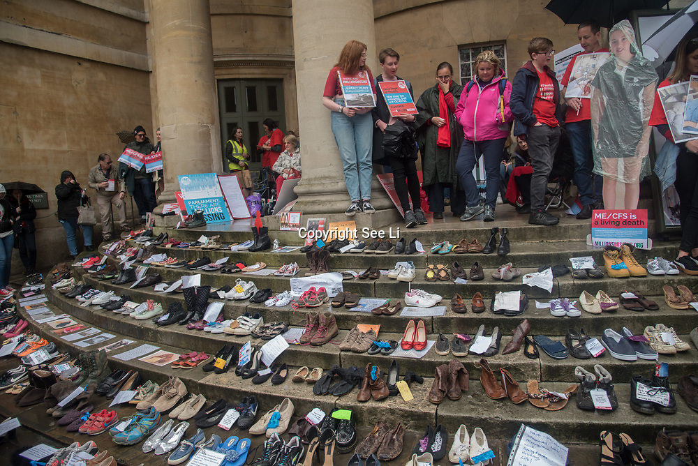 UK: Demonstrators rally for a Millions Missing march to demand health equality for all in London<br />