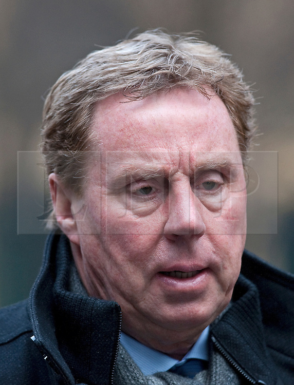 © Licensed to London News Pictures. 07/02/2012. London, UK.  Harry Redknapp arriving at Southwark Crown Court on February 7th, 2012. Harry Redknapp faces two counts of cheating the public revenue. Charges relate to the payment of $295k from Milan Mandaric to Harry Redknapp via a bank account in Monaco, evading tax and national insurance while the pair were at Portsmouth Football Club. Photo credit : Ben Cawthra/LNP