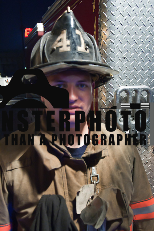 Portrait of one of the worlds bravest Camden-Wyoming Fire fighter David Allan Redick Jr Wednesday, July 6, 2011, in Camden-Wyoming Delaware.