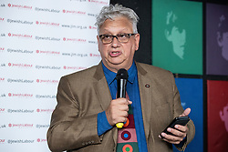 © Licensed to London News Pictures . 23/09/2018. Liverpool, UK. JON LANSMAN speaks at a rally by The Jewish Labour Movement at The Liverpool Pub in central Liverpool during the first day of the 2018 Labour Party Conference . Photo credit: Joel Goodman/LNP