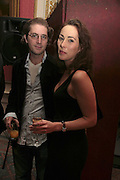 CHRISTOPHER EADS AND MELINDA HUGHES, Literary Review's Bad Sex In Fiction Prize.  In & Out Club (The Naval & Military Club), 4 St James's Square, London, SW1, 29 November 2006. <br />