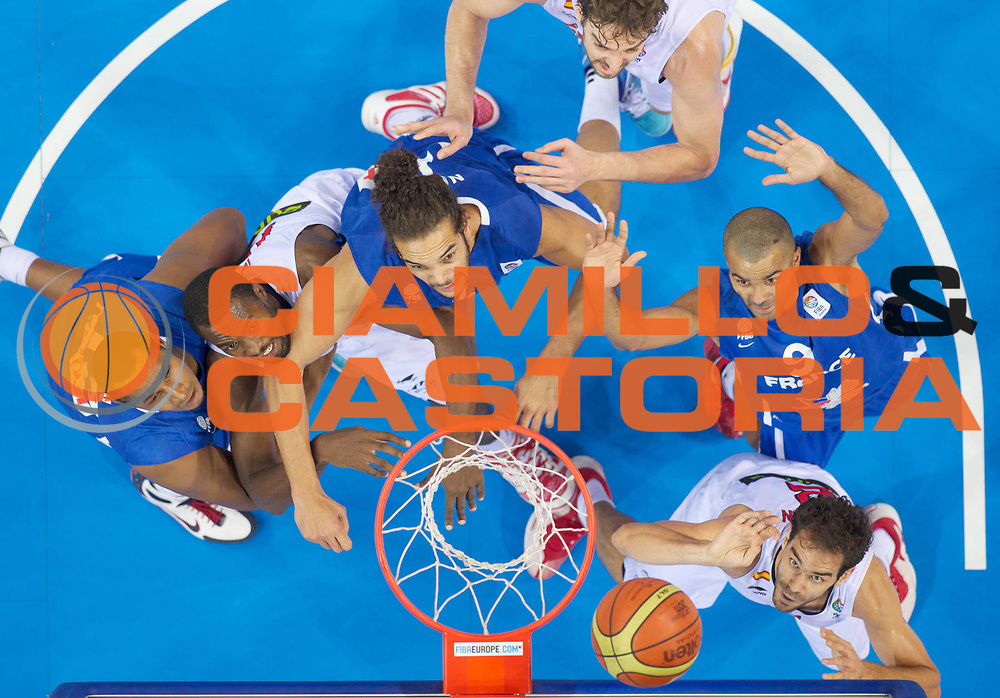 DESCRIZIONE : Kaunas Lithuania Lituania Eurobasket Men 2011 Finale Primo Secondo Posto Final Spagna Francia Spain France<br /> GIOCATORE : Jose Calderon <br /> SQUADRA : Spagna Spain<br /> EVENTO : Eurobasket Men 2011<br /> GARA : Spagna Francia Spain France<br /> DATA : 18/09/2011 <br /> CATEGORIA : tiro shot special<br /> SPORT : Pallacanestro <br /> AUTORE : Agenzia Ciamillo-Castoria/T.Wiedensohler<br /> Galleria : Eurobasket Men 2011 <br /> Fotonotizia : Kaunas Lithuania Lituania Eurobasket Men 2011 Finale Primo Secondo Posto Final Spagna Francia Spain France<br /> Predefinita :