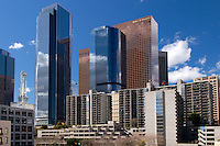 Downtown Los Angeles Skyrise Buildings, L.A., California