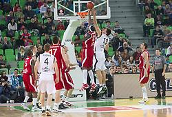 Kevinn Pinkney in Matej Krusic na Dnevu slovenske moske kosarke 2010, on January 2, 2011 in Arena Stozice, Ljubljana, Slovenia. (Photo by Vid Ponikvar / Sportida.com)