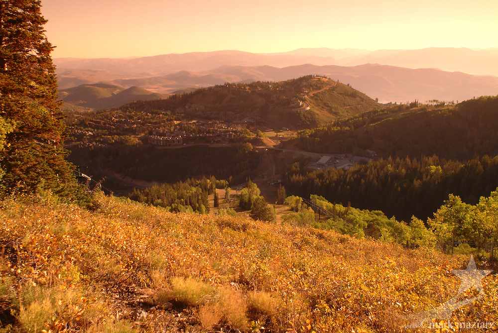 fall colors at Deer Valley Resort and Empire Canyon, Park City, Utah
