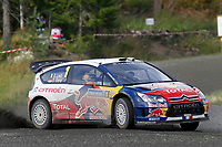 MOTORSPORT - WORLD RALLY CHAMPIONSHIP 2010 - NESTE OIL RALLY FINLAND / RALLYE DE FINLANDE - JYVASKYLA (FIN) - 29 TO 31/08/2010 - PHOTO : FRANCOIS BAUDIN / DPPI - <br /> SEBASTIEN LOEB / DANIEL ELENA - CITROEN TOTAL WRT CITROEN C4 WRC - ACTION