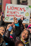 Women's March on London - a grassroots movement of women has organised marches around the world to assert the 'positive values that the politics of fear denies' on the first day of Donald Trump's Presidency. Their supporters include: Amnesty International, Greenpeace, ActionAid UK, Oxfam GB, The Green Party, Pride London, Unite the Union, NUS, 50:50 Parliament, Stop The War Coalition, CND.