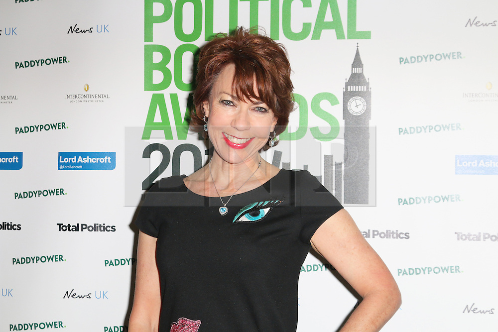 © Licensed to London News Pictures. 19/03/2014, UK. Kathy Lette, Political Book Awards, BFI IMAX, London UK, 19 March 2014. Photo credit : Richard Goldschmidt/Piqtured/LNP