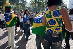Copa do Mundo 2010. Brasil eliminado da Copa pela Holanda./World Cup 2010. Brazil eliminated from World Cup by the Dutch team.Vale do Anhagabau,Sao paulo. Foto © Adri Felden/Argofoto