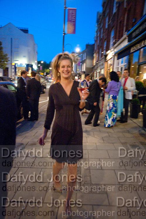 HENRIETTA MAYNE, Pimlico Road party. 22 June 2010. -DO NOT ARCHIVE-© Copyright Photograph by Dafydd Jones. 248 Clapham Rd. London SW9 0PZ. Tel 0207 820 0771. www.dafjones.com.